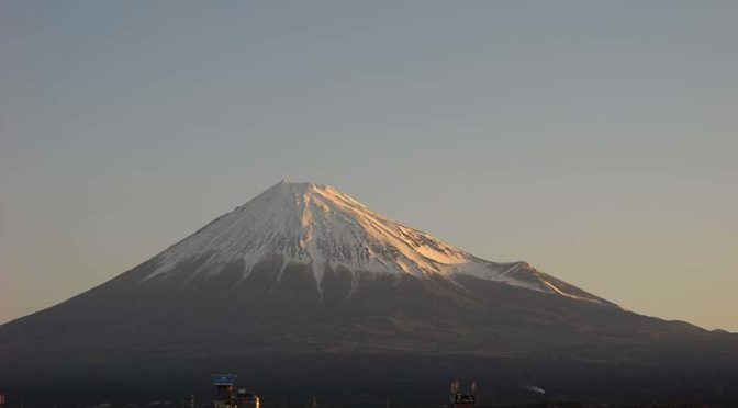 【2020年3月12日 今日の富士山】
