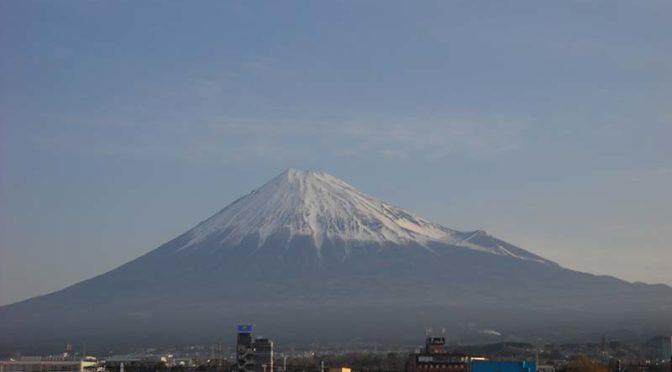 【2020年3月13日 今日の富士山】