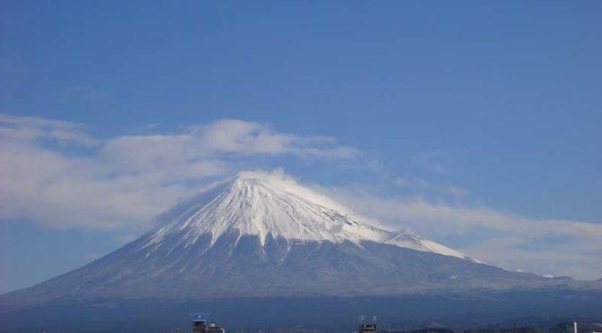 【2020年3月16日 今日の富士山】