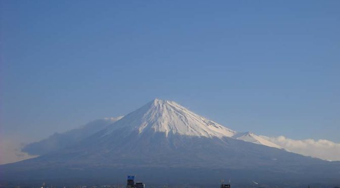 【2020年3月24日 今日の富士山】