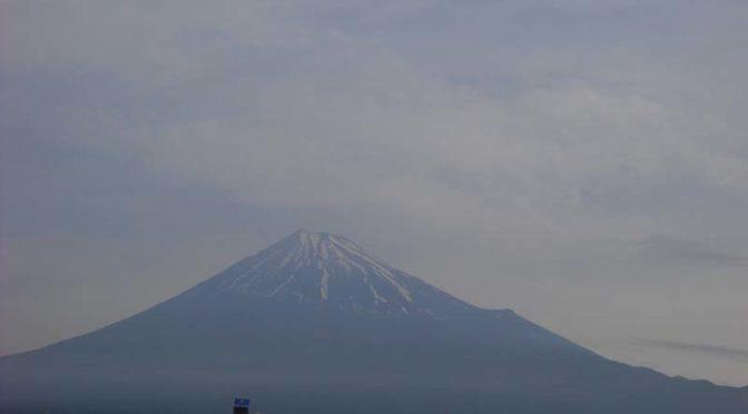 【2020年5月18日 今日の富士山】