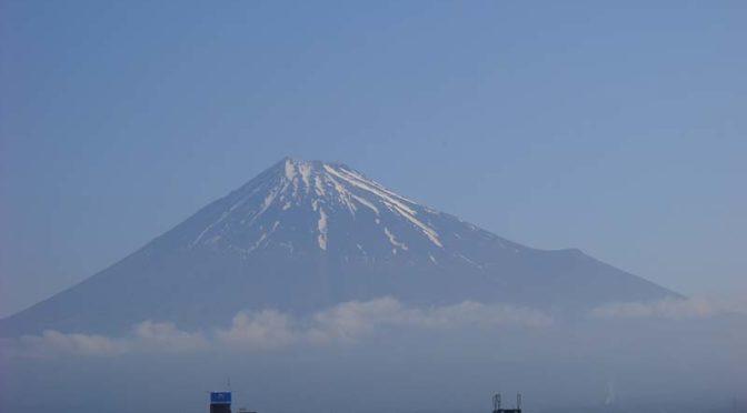 【2020年5月22日 今日の富士山】