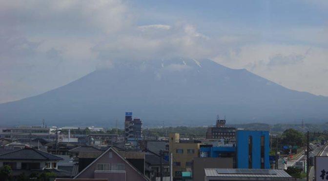 【2020年5月27日 今日の富士山】