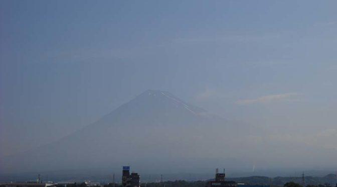 【2020年6月17日 今日の富士山】