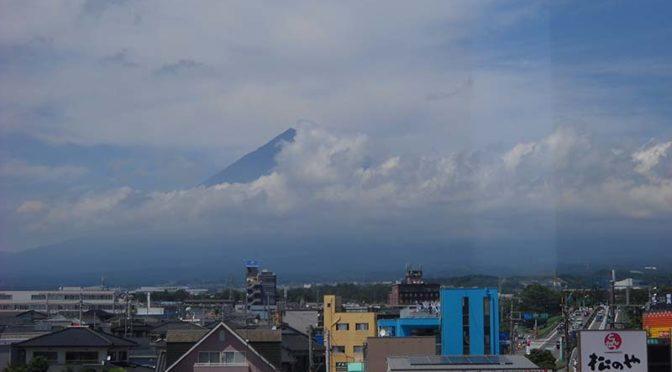 【2020年7月2日 今日の富士山】