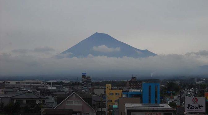 【2020年7月3日 今日の富士山】