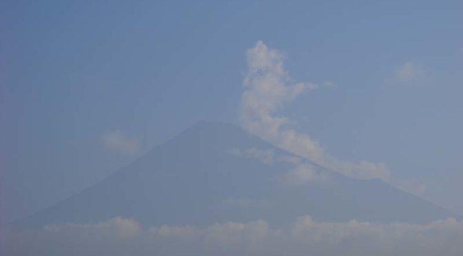 【2020年8月4日 今日の富士山】