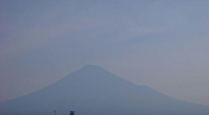【2020年8月7日 今日の富士山】