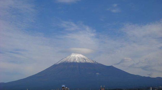 【2020年10月18日 今日の富士山】