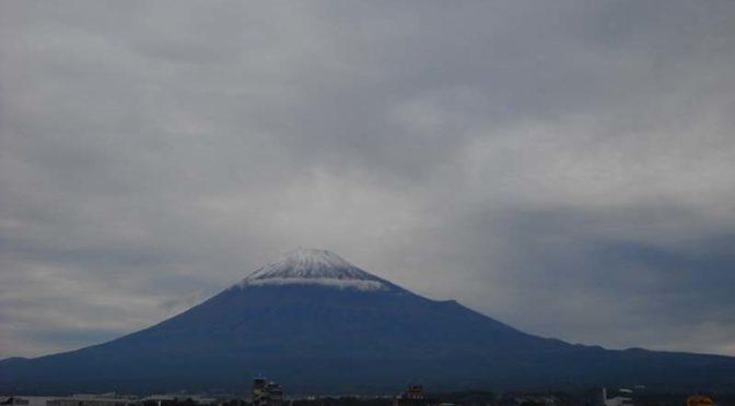 【2020年10月19日 今日の富士山】