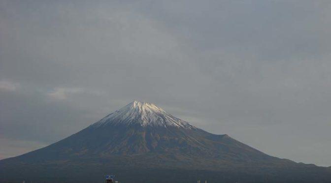 【2020年10月20日 今日の富士山】
