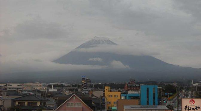【2020年10月22日 今日の富士山】