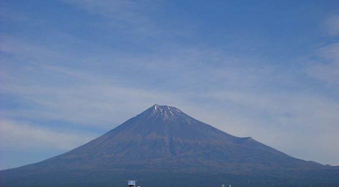 【2020年10月26日 今日の富士山】