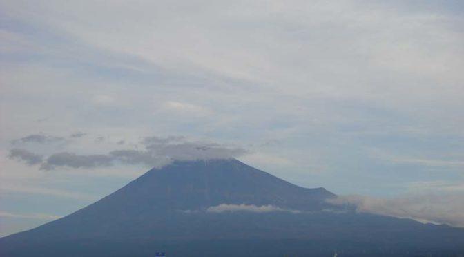 【2020年10月27日 今日の富士山】