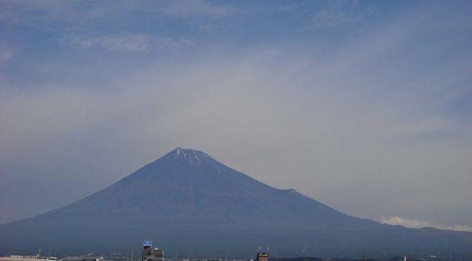 【2020年10月28日 今日の富士山】