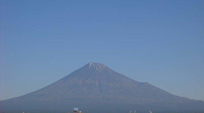 【2020年10月29日 今日の富士山】
