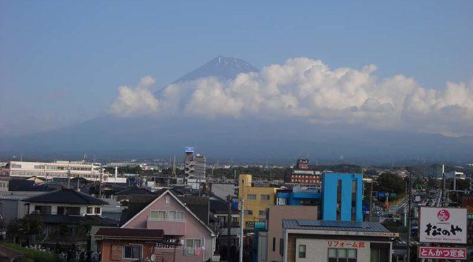 【2020年10月30日 今日の富士山】