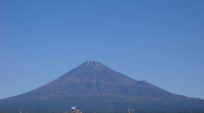 【2020年10月31日 今日の富士山】