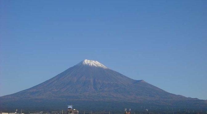【2020年11月4日 今日の富士山】