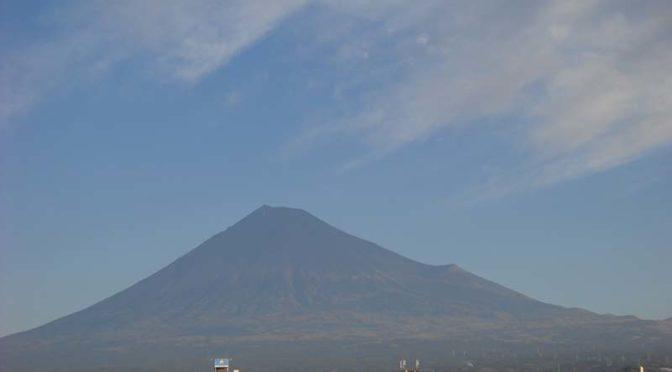 【2020年12月25日 今日の富士山】