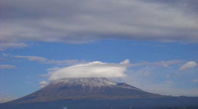 【2020年12月28日 今日の富士山】