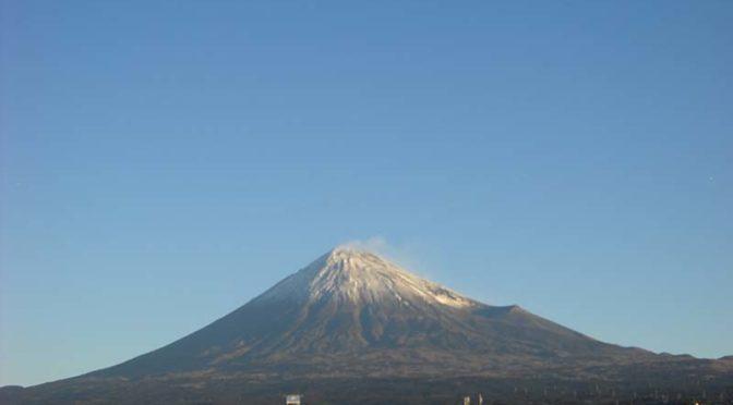 【2020年12月31日 今日の富士山】