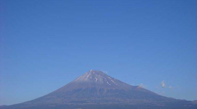 【2021年1月4日 今日の富士山】