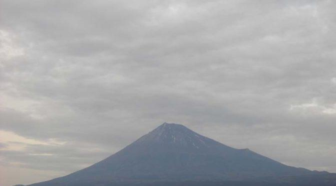 【2021年1月5日 今日の富士山】
