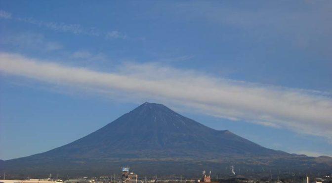 【2021年1月8日 今日の富士山】