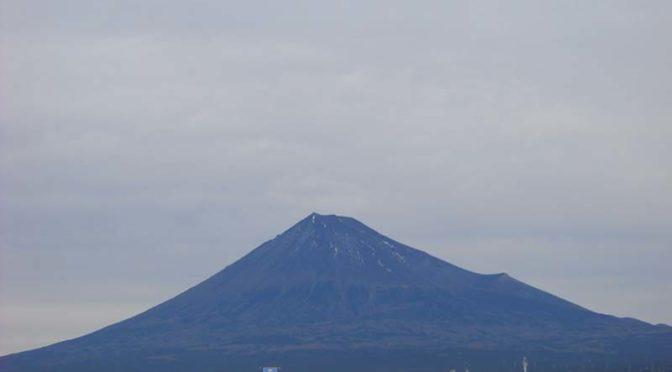 【2021年1月11日 今日の富士山】