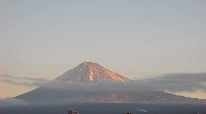 【2021年1月13日 今日の富士山】
