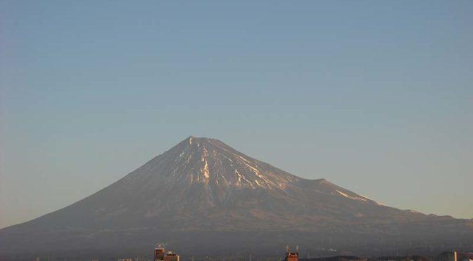 【2021年1月14日 今日の富士山】