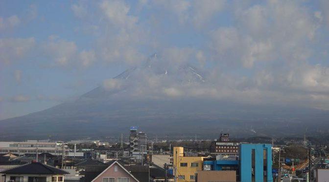 【2021年1月15日 今日の富士山】