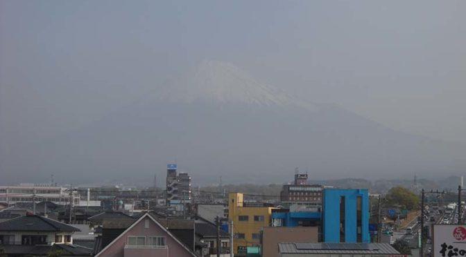 【2021年3月30日 今日の富士山】