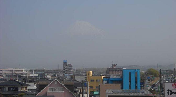 【2021年3月31日 今日の富士山】