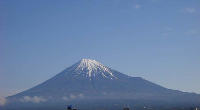 【2021年4月6日 今日の富士山】