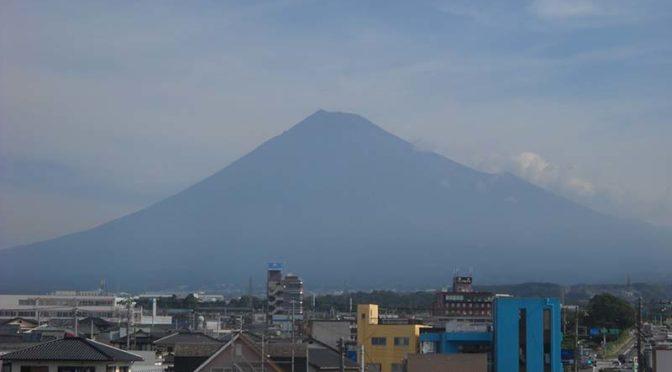 【2021年8月26日 今日の富士山】