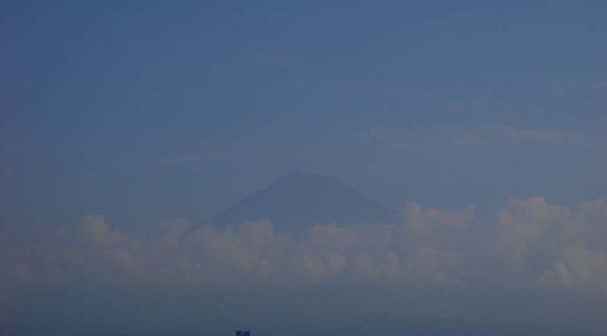 【2021年8月27日 今日の富士山】