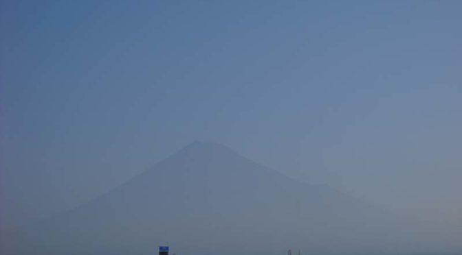 【2021年8月30日 今日の富士山】