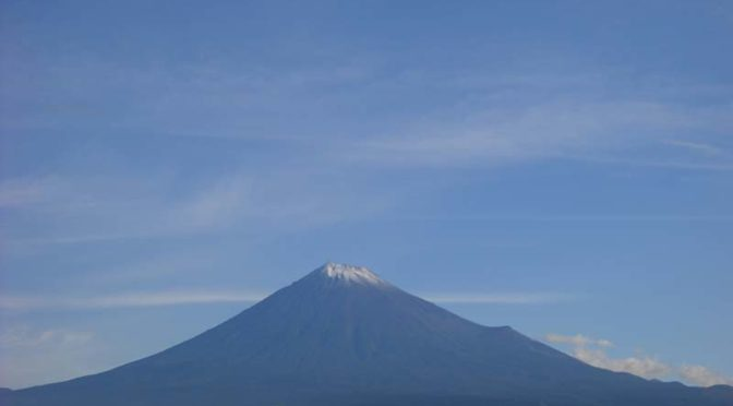 【2021年9月7日 今日の富士山】
