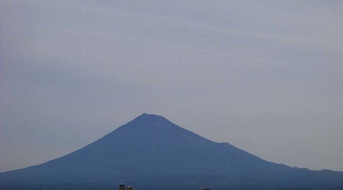 【2021年9月13日 今日の富士山】