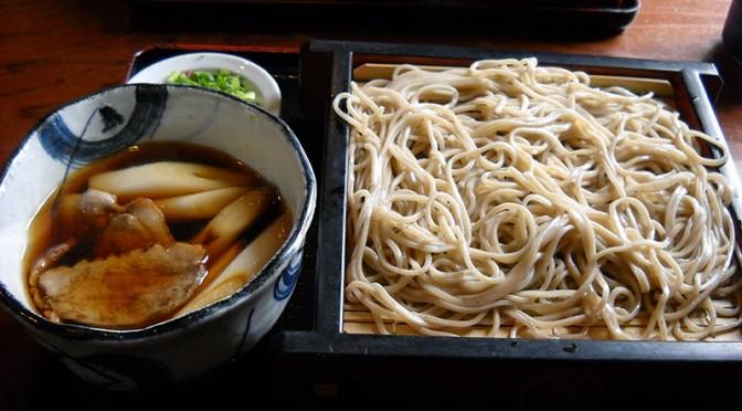【ふるさとの蕎麦 鴨せいろを堪能】 静岡市清水区春日