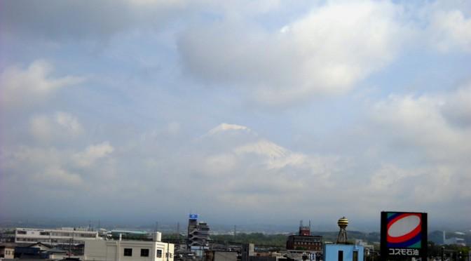 [2014年5月1日 今日の富士山]