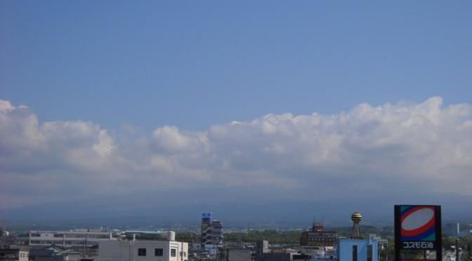 【2014年5月7日 今日の富士山】