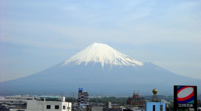 【2014年5月8日 今日の富士山】