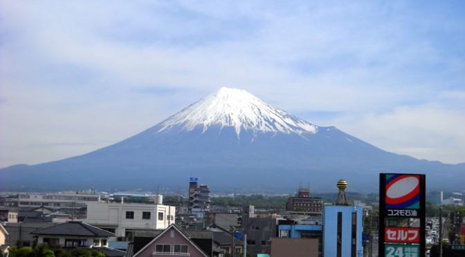 [2014年5月12日 今日の富士山]