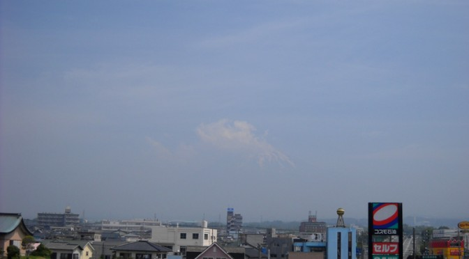 [2014年6月2日 今日の富士山]