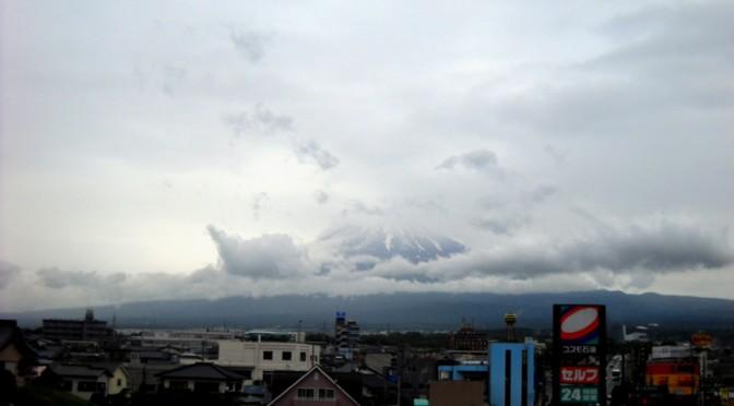 [2014年6月7日 今日の富士山]