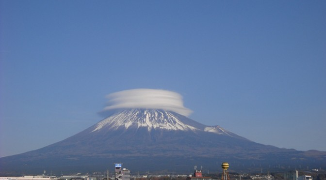 【2017年12月17日 今日の富士山】
