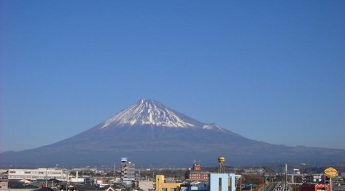 【2017年12月23日 今日の富士山】